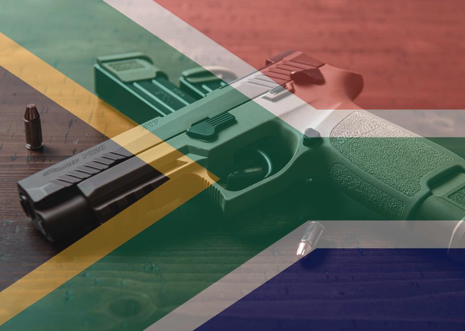 GFSA Firearm Ownership Gun + SA flag FCA Amendment