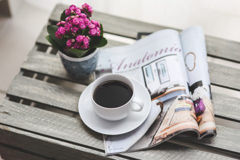 Newspaper and Coffee Independent Race