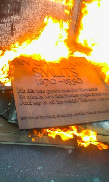 Incinerating Smuts UCT