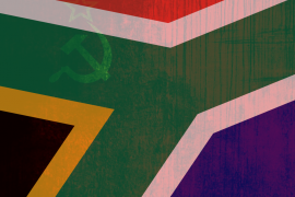 Two Years South African Flag Communism Marxism