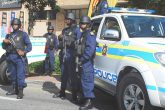 South African Police Army Ending the Riots