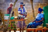 Poor Africa Woman Women Trade Commerce Market Economy
