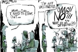 Jerm Unvaccinated Covid Comic Cartoon